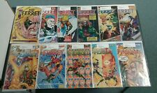 FERRET #1-10 + #1 Variant (Malibu Comics 1993) COMPLETE SET LOT RUN! SIGNED!