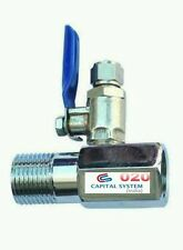 """3/8""""Stainless Steel Inlet +Valve/Connector RO/UV/Water Filter Purifier set [20A]"""