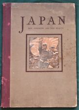 JAPAN Her Strength & Beauty - 1904 1st ed HC - Country & Military Photo Book