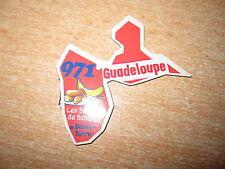 LE GAULOIS AIMANT DEPART'AIMANTS / DEPARTEMENTS GUADELOUPE 971 BASSE-TERRE RARE