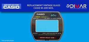 Ersatz Original Uhren Glas Casio W-20R NOS