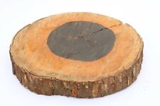 Ironwood Epoxy Exotic Wood Natural Live Slab Edge Lumber End Table 2 x 13 x 14