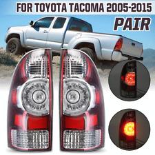 Right+Left Side Rear Tail Brake Light Lamp For Toyota Tacoma Pickup 2005-2015