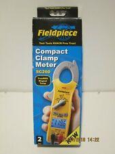 Fieldpiece Sc260 Compact Clamp Meter True Rmsmagnet Temp New Sealed Box Fprisp