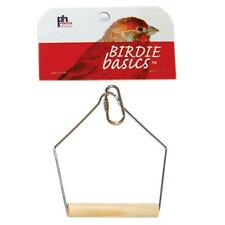 Prevue Pet Products Birdie Basics Wood Swing 4inX5in Small/Medium (Free Shipping