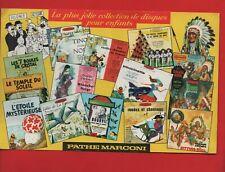 TINTIN - Buvard Pathé Marconi. Disques Tintin. Très beau buvard (réf. 22/11)