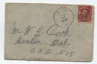 1906 Edith VA cover to Kenton DE #319 [f821.111]