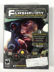 Operation Flashpoint PC, 2001 Game of the Year Edition