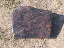Grabstein, Liegestein, der Preis ist mit vertiefter Inschrift 45 x 35 x 4 cm