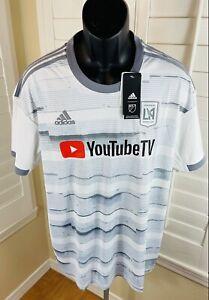 Adidas MLS LAFC Football Club 20/21 Alternate Away Jersey, GE5944, Men's XL, NWT