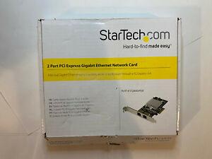 StarTech Dual Port PCI Express Gigabit Ethernet Network Card - ST2000SPEXI