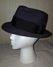 070a9379f3c Vintage Cavanagh Hat 50s-60s Felt Fedora Grayish-Green 6-7 8