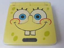 SPONGEBOB Gameboy Advance SP GBA SP Console/System limited edition ! Tested !