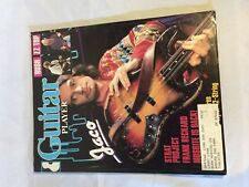 Guitar Player Magazine 1984 Vintage mailed to SUNN Musical Co. 08/84 JACO Rush Z