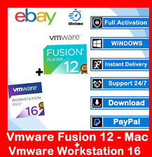VMware (Workstation Pro 16.1.0 +Fusion 12.1.0) 2021 🔐Lifetime 🔐Win -Mac -Linux
