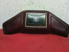 1985 - 1991 Cadillac Eldorado Deville steering wheel horn button pad Maroon OEM