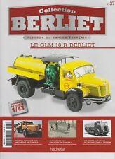 n° 37 Camion BERLIET GLM 10 Citerne Roger MARTIN FASCICULE BOOKLET
