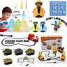 00Lot Magic Pen Inductive Car Tank Truck Toy Automatic Follow-Line You Draw Toys
