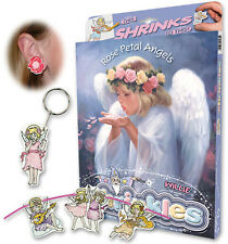 ROSE PETAL ANGELS SHRINKLES SHRINK ART BUMPER BOX SET & PENCILS EMBELLISHMENTS