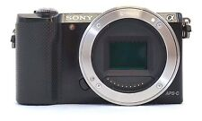 Sony Alpha a5000 20.1MP Digital SLR Camera - Black BODY ONLY