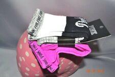 Victorias Secret Pink Logo Purple & Marl Knee Socks SET NWT OS