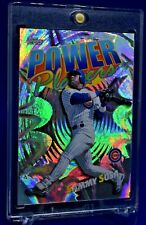 SAMMY SOSA TOPPS POWER PLAYERS RAINBOW REFRACTOR HOLO CUBS HR KING SP RARE
