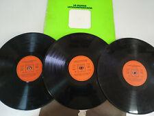 """La Musica Latinoamericana Eydie Gorme Los Panchos - 3 x LP Vinilo 12"""" VG/VG"""