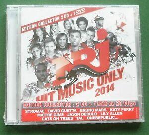 NRJ Hit Music Only 2014 Katy Perry David Guetta Jason Derulo + New 2 x CD + DVD