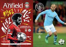 Liverpool v Manchester City - Champion's League Quarter Final - BOTH LEG'S 2018