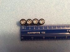 2 SET LOT 1/64 SCALE HOT WHEELS REAL RIDERS WHEELS & RUBBER TIRES 5 SPOKE/STAR