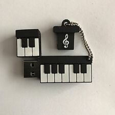 1 New Novelty Musical Keyboard 128MB USB Pen Drive, USB Flash Drive Memory Stick