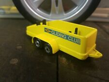 "Matchbox TP-7 Glider Transporter Yellow 1977 ""Gliding Club"""
