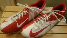 Nike Vapor Pro Low TD Men's Red & White Molded Football Cleats nice SZ 13.5 NEW