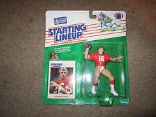 1988 Joe Montana Starting Lineup Figure San Francisco 49ers 1988 SLU