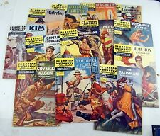 Classics Illustrated 1st editions lot of 13 - #88 - 143 Vf/Nm Overstreet > $350