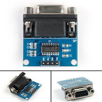 5Pcs MAX3232 RS232 Serial Port To TTL Converter Module Connector Female UK