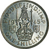 UK George VI Silver Shilling 1937-1946 Circulated Grades Pick the coins you want