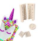 3D Unicorn Ear Eye Silicone Mold Baking Tool Birthday Cake Fondant Sugarcraft
