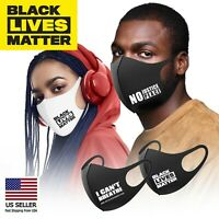 BLACK LIVES MATTER Face Fashion Mask Washable Reusable Fabric Cover FLOYD #BLM