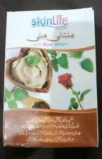 Multani Mati with rose water good for oil skin, acne treatment and open pores.