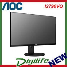 AOC 27'' I2790VQ IPS LED Monitor 5ms; 20M:1; 16:9; DP: HDMI; VGA; Speakers;