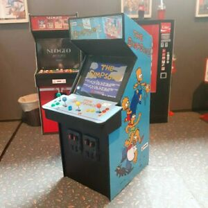 1/12 Scale Miniature The Simpsons Arcade Cabinet for Action Figures or Dioramas