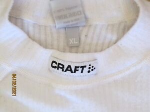 Craft L1 Ventilation Cycling Short Sleeve Base Layer  - M's athletic/race fit XL