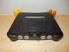 Loose NTSC-JAP Hong Kong Nintendo 64 Charcoal Grey Console HKG Version