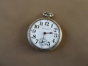 Antique Pocket Watch - South Bend Grade 211 - 17j - 16s - Serial 1108075