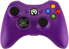 Xbox 360 Custom Wireless Controller (Purple) (Refurbished)