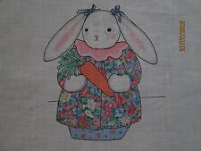 CRANSTON INC. BETSY BUNNY FABRIC PANEL WITH INSTRUCTIONS FOR SEWING - BRAND NEW