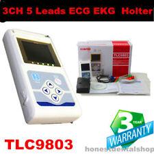3 canali Holter ECG Sistema Monitor monitore USB F Recorder Analyz TLC9803 DHL