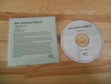 CD Pop Joe Jackson - Volume IV (11 Song) Promo RYKO DISC