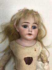 16� Antique Bisque Peter Scherf Doll Damaged
